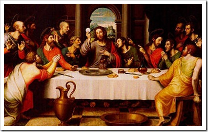 Instituição da Eucaristia