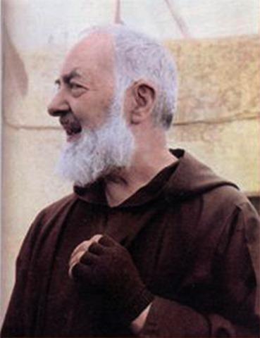 Resultado de imagem para padre pio e o espirito santo