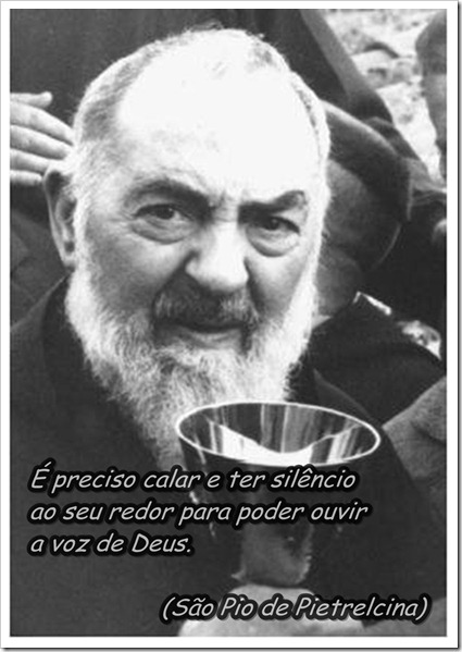 Frases De Santos São Pio De Pietrelcina